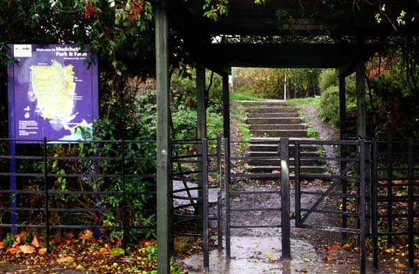 Gate at Mudchute Park