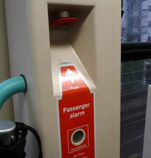 Recessed alarm, DLR