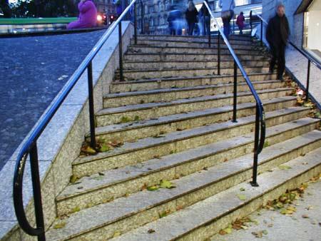 Angled Steps