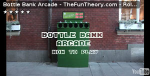 Bottle bank arcade
