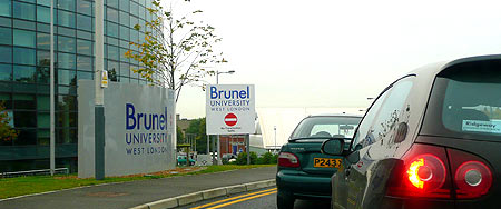 Entrance to Brunel, Kingston Lane