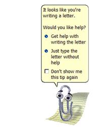 Microsoft Office Clippit