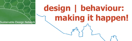 Design | Behaviour: Making it happen