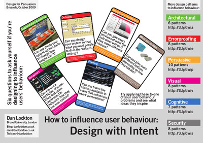 Design for Persuasion handout