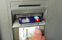 Interlock on ATM - card returned before cash dispensed