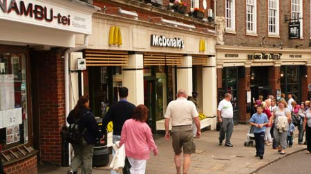 McDonalds Restaurant, Windsor, Berkshire