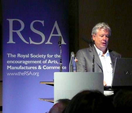Richard H Thaler at the RSA