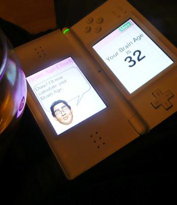 Scores - Nintendo Brain Age