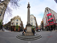 Shared Space at Seven Dials in London. Photo by cheddarcheez