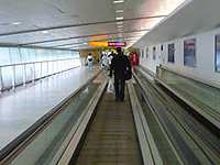 Moving walkway at Heathrow