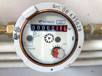 Choosing to have a water meter installed demosntrates some commitment to saving water. Photo by Phatcontroller